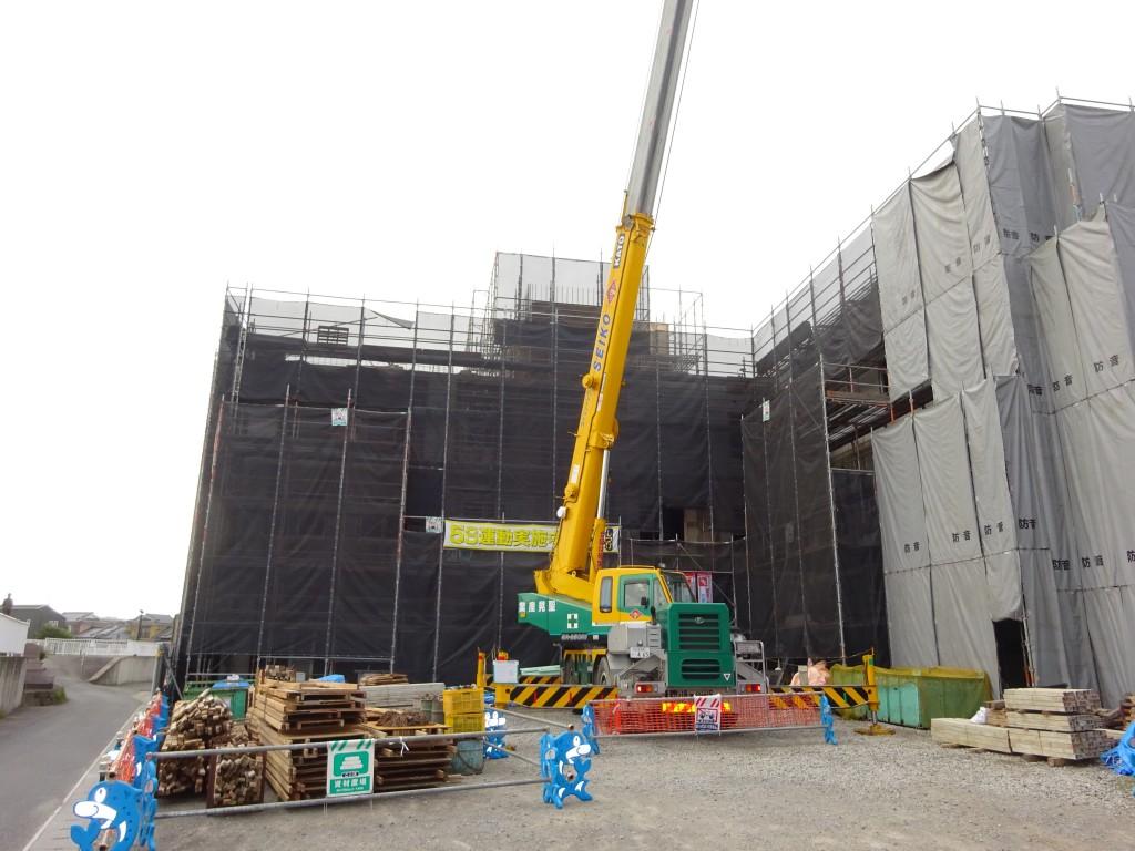 片島サービス付き高齢者向け住宅新築工事